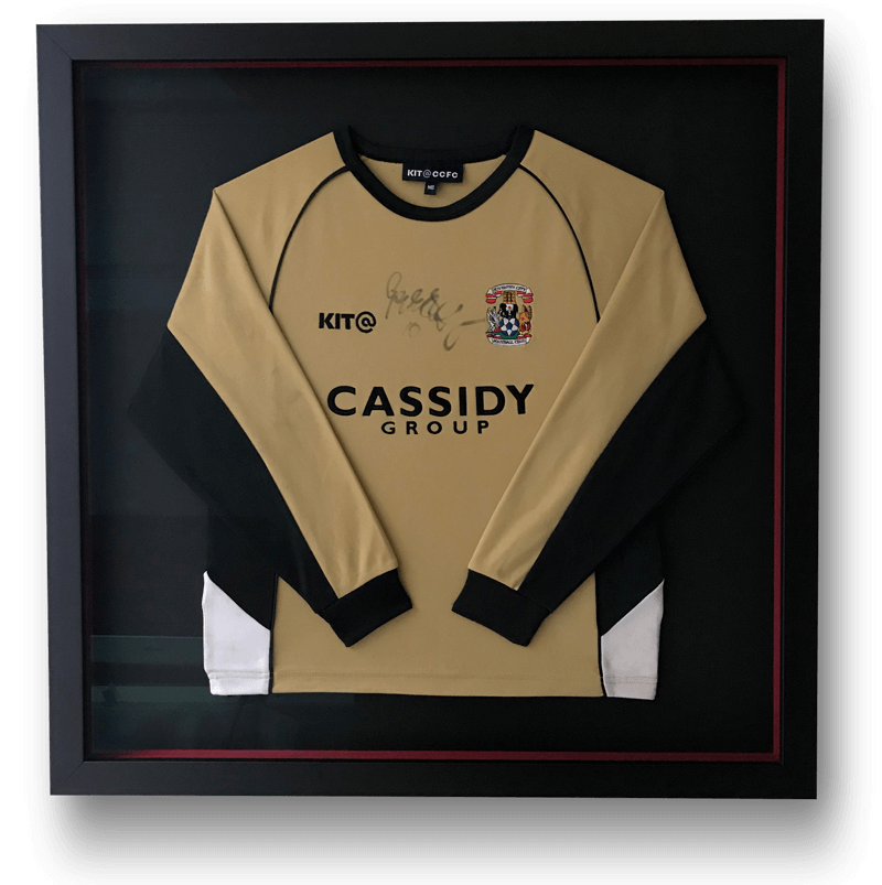 Sports Shirt Framing Coventry